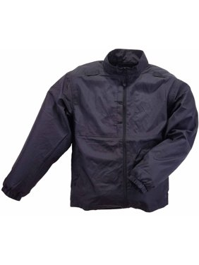 Men Packable Jacket, Black, Dark Navy