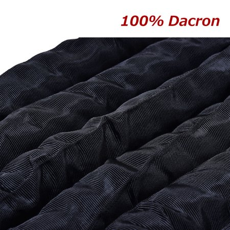 Gymax 2'' Battle Ropes 30/40/50ft Length Poly Dacron Rope Exercise Training Fitness - image 4 de 8