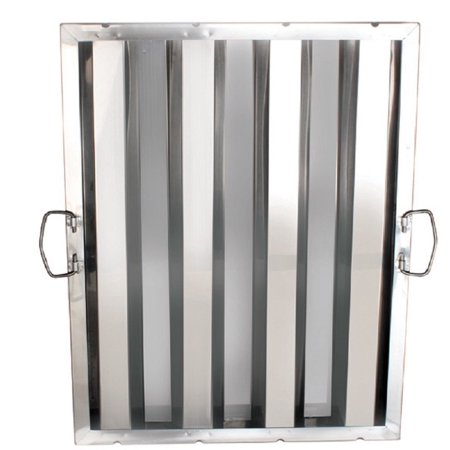 """(6) FILTER STAINLESS STEEL HOOD GREASE FILTERS DIFFERENT SIZES RESTAURANT 6 PACK (16"""" X 25"""")"""