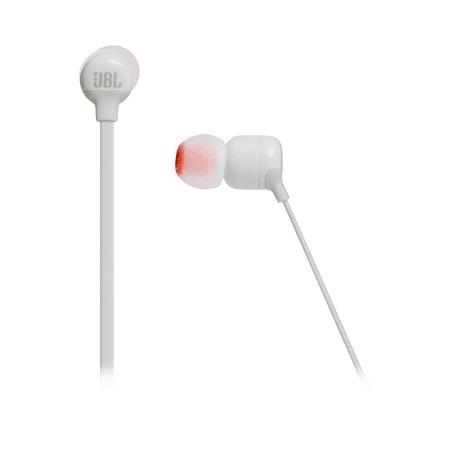 34d13a5374c JBL Tune 110BT In-Ear Wireless Headphones (White) - Walmart.com