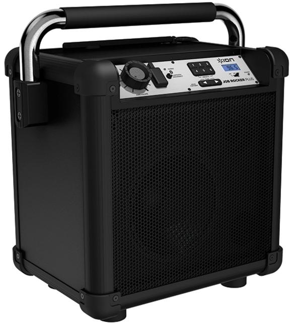 Ion IPA74-B Job Rocker Plus Bluetooth Speaker - Black (Refurbished)