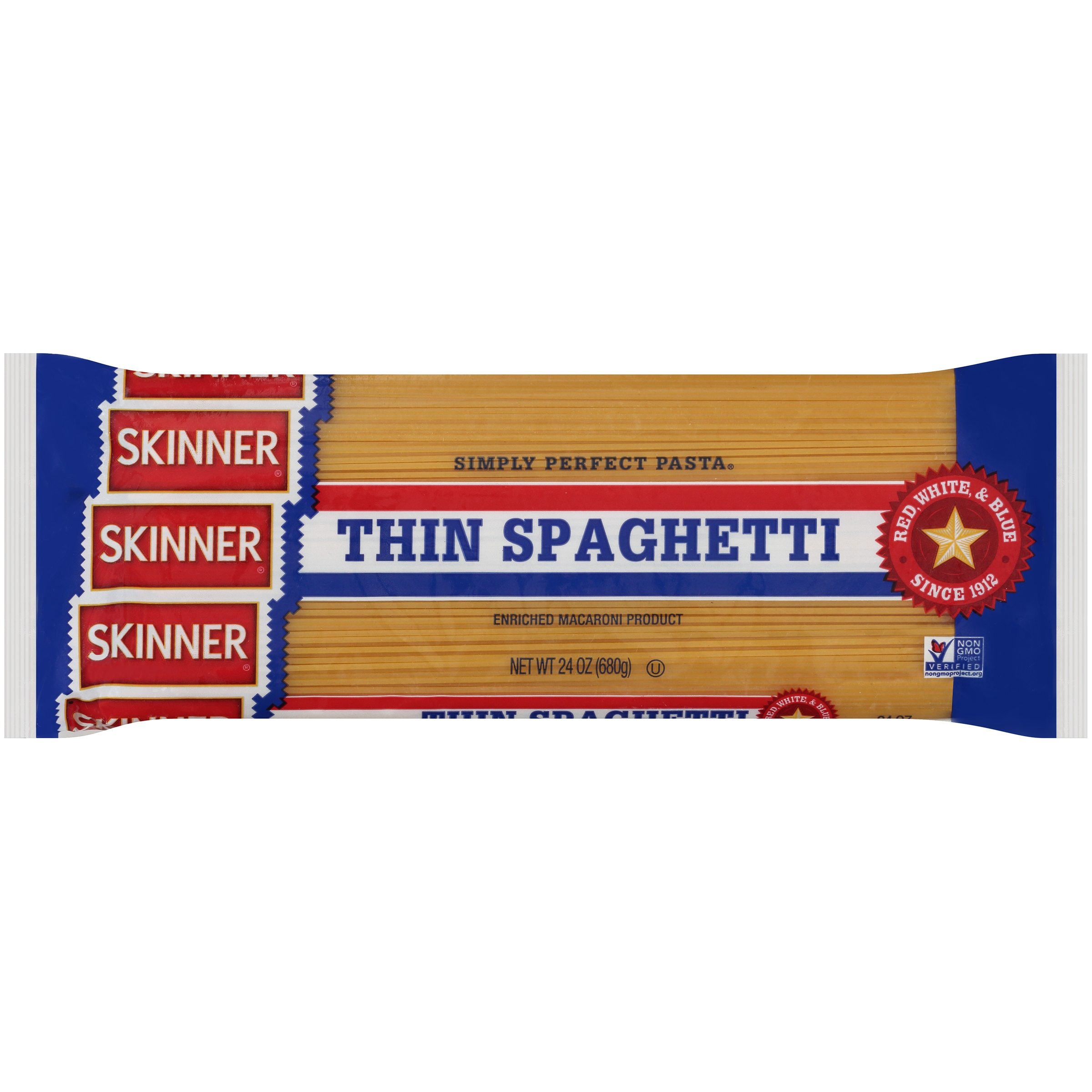 (12 Pack) Skinner® Thin Spaghetti, 24 oz. Bag