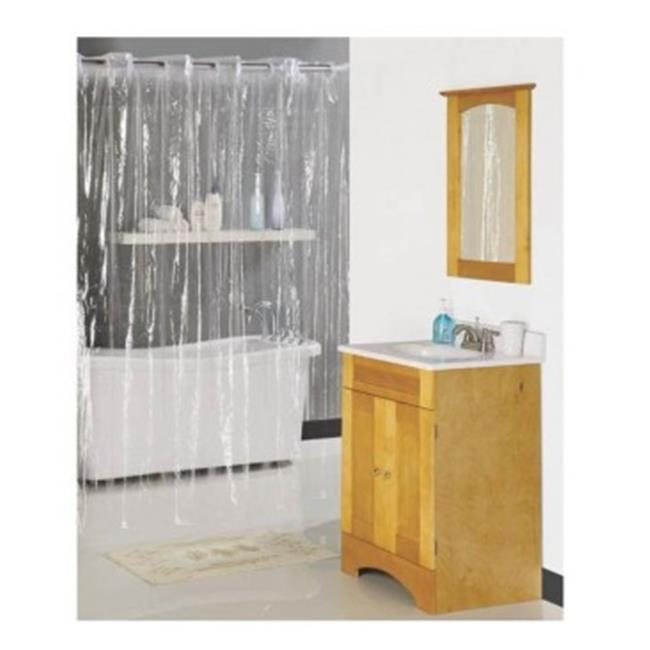 Home Basix 64956 70 X 72 In. Hookless Shower Curtain