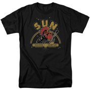 Sun Records Rocking Rooster Mens Short Sleeve Shirt
