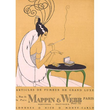 Gazette Du Bon Ton 1921 Mappin   Webb Poster Print By Unknown