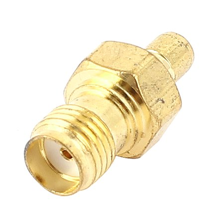 Gold Plated SMA Female to SMB Male Jack Coaxial RF Connector Adapter - image 2 of 2