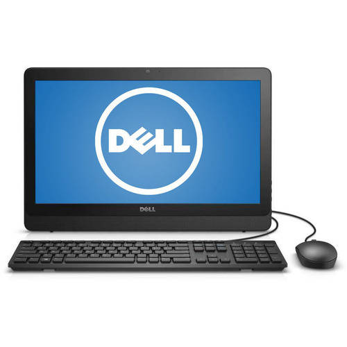 "Dell Black Inspiron 3052 All-in-One Desktop PC with Intel Celeron N3150 Processor, 2GB Memory, 19.5"" Monitor, 32GB eMMC and Windows 10 Home"