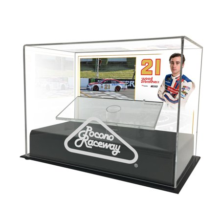 Ryan Blaney Fanatics Authentic 2017 Axalta Presents the Pocono 400 1:24 Die Cast Display Case with Sublimated Plate - No Size
