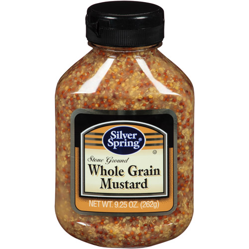 Silver Spring Stone Ground Whole Grain Mustard, 9.25 oz (Pack of 9)