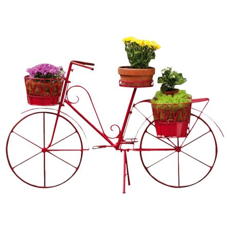 Cape craftsmen bicycle plant stand - Bicycle planter stand ...