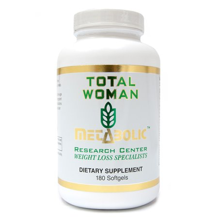 Total Woman: Omega 3-6-9 by Metabolic Research Center, Dietary Supplement, 180 count