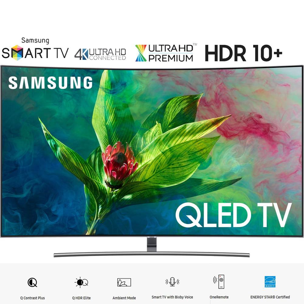 "Samsung QN65Q7CNA 65"" Q7 QLED Curved Smart 4K UHD TV (2018 Model)- (Certified Refurbished)"
