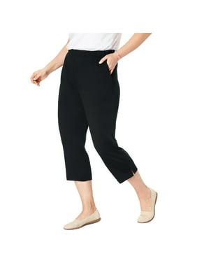 Woman Within Plus Size 7-day Knit Capri Pants