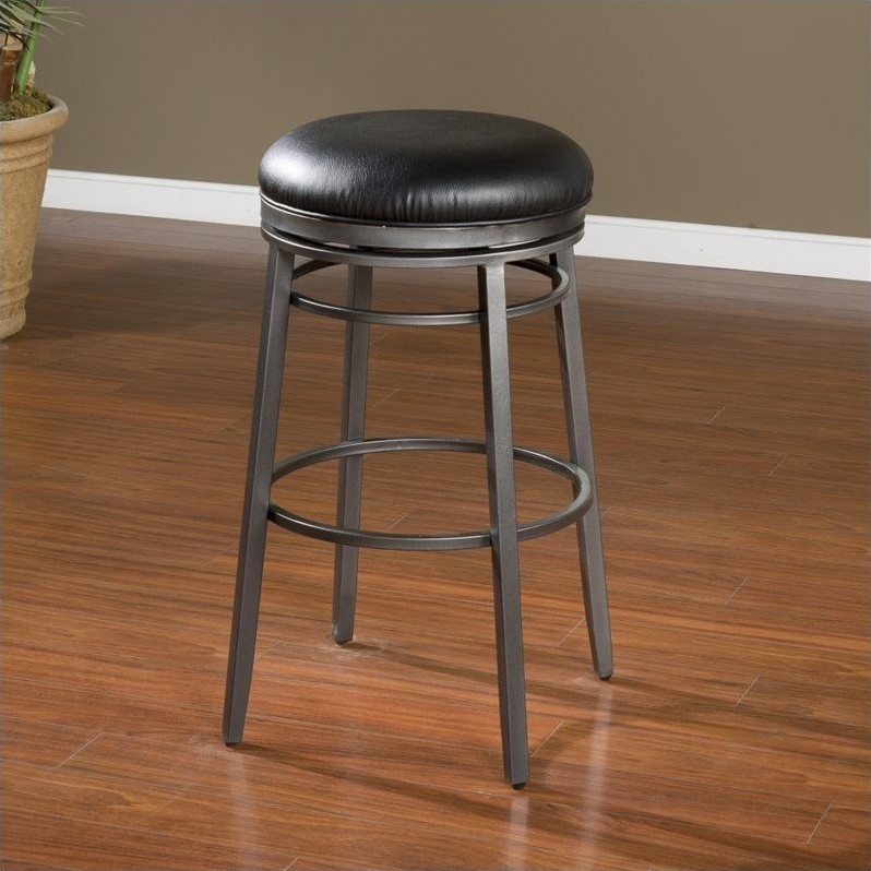 American Heritage Silvano Bar Stool In Flint 30 Inch