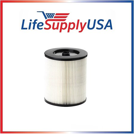 2 Pack Filters to fit Shop Vac Craftsman 17816, 9-17816, 9-17784, 9-17762, 9-17923 9-17937 Wet Dry Vacuums 5 Gallon and Larger Craftsman Shop Vac Filter