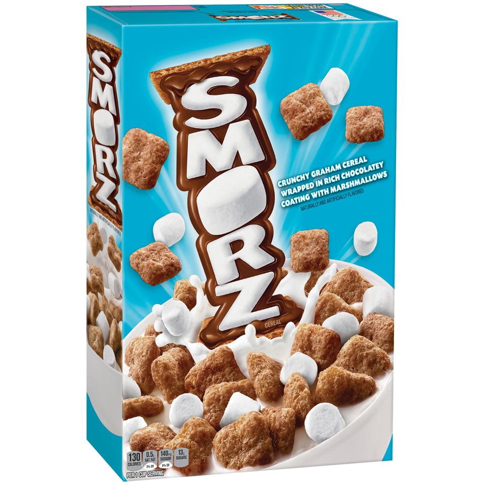 Kellogg's Smorz Breakfast Cereal, Graham Cracker S'Mores, 10.2 Oz