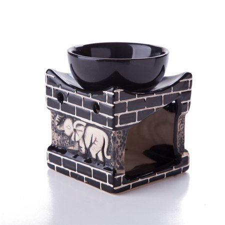 - Feng Shui Zen Ceramic Essential Oil Burner Diffuser Tea Light Holder Great For Home Decoration & Aromatherapy OLBA098