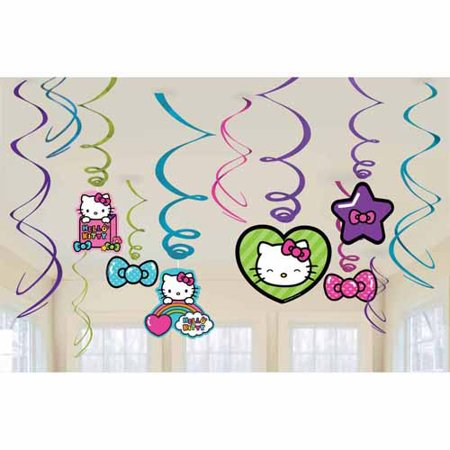Hello Kitty Rainbow Foil Danglers