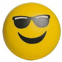 Splat Balls Squishy Squeeze Sticky Stress Relief Mesh EMOJI SUNGLASSES Splatball