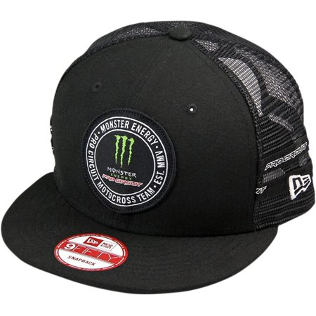 Monster Patch Mens Snapback Hats, Pro Circuit Monster Patch Mens Snapback  Hats By Pro Circuit