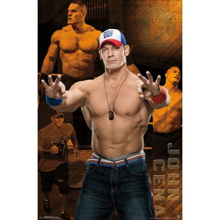 Trends International Wwe John Cena Wall Poster 22 375   X 34