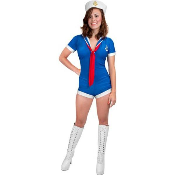 Sexy sailor costumes for women
