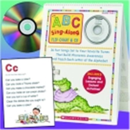 Scholastic Abc Sing Along Flip Chart With Cd (Abc Flip Chart With Cd)