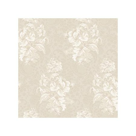York Wallcoverings Hyde Park Bouquet 27' x 27'' Floral and Botanical Wallpaper - South Park Halloween Wallpaper