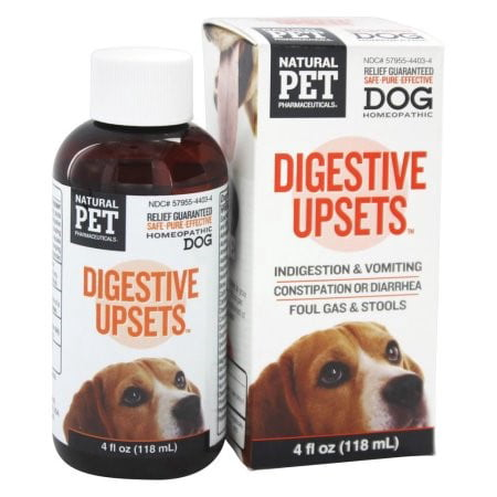 King Bio Homeopathic Natural Pet Digestive Upsets 4 Oz