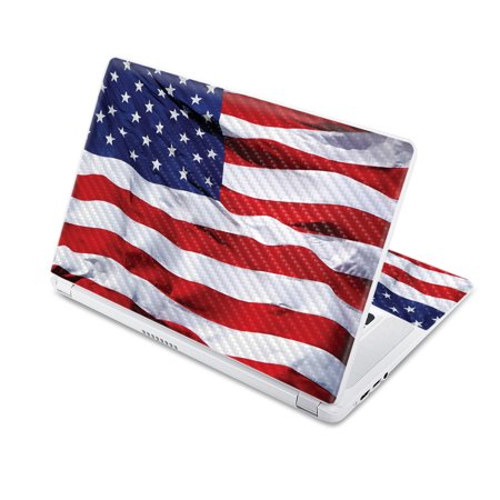 """Americana Skin For Acer Chromebook 15 15.6"""" (2017)  Protective, Durable Textured Carbon Fiber Finish  Easy To Apply, Remove, and Change Styles  Made in the USA"""