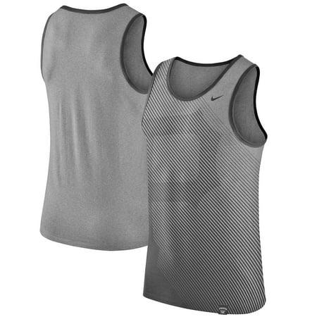 Pittsburgh Pirates Nike 1.7 Tri-Blend Tank Top - Heathered Gray