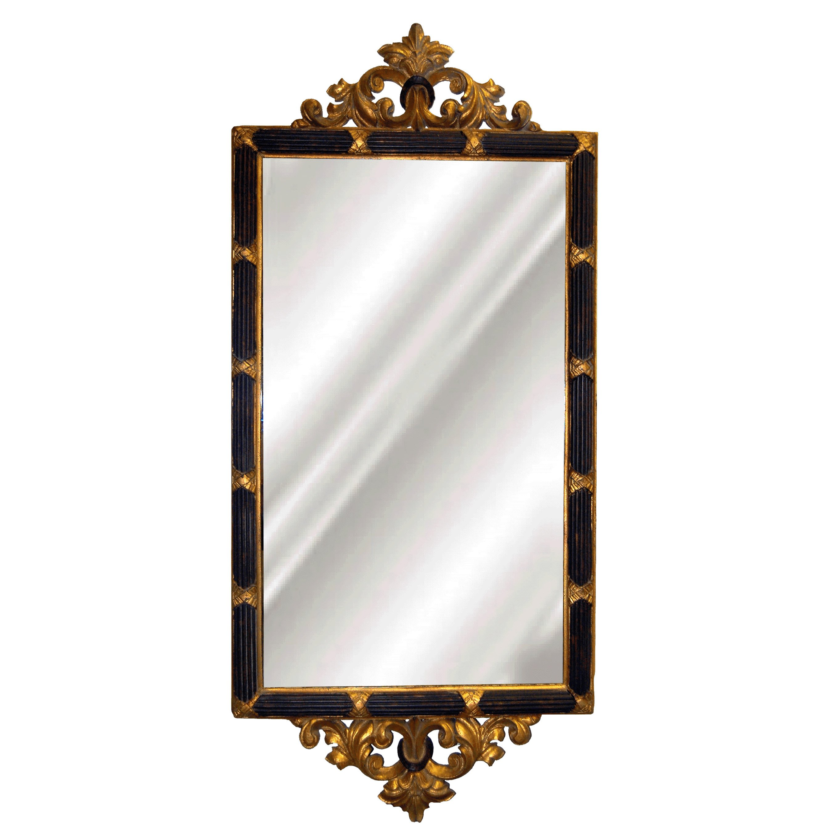 Hickory Manor House Double Dunbar Mirror - 24.5W x 55H in.