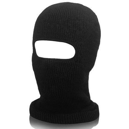 2PCS Balaclava Face Neck Warmer Scarf Headwear Face Mask Unisex Women Men Hoods Face Hat Cap Knit Windproof thumbnail