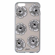 Sonix Clear Coat Case for iPhone 6s Plus / 6 Plus - Clear / White Gold Flowers