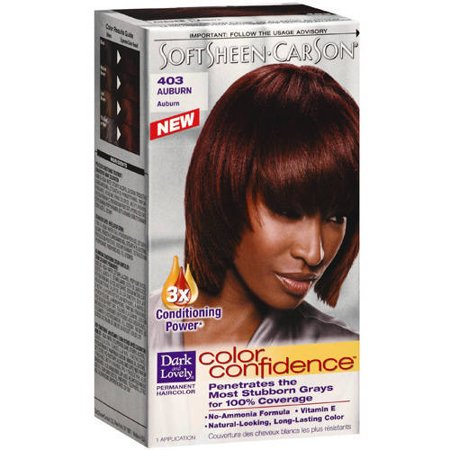 Soft Sheen Carson Dark And Lovely Color Confidence Permanent