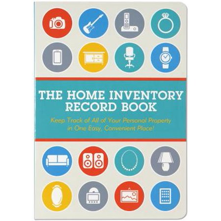 Home Inventory Record Book (Inventory Record)