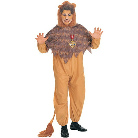 Adult Cowardly Lion Costume - Adult Lion Costume