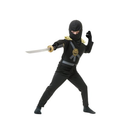 Halloween Ninja Avenger Series 1 Child Costume - Black](Black Ninja Costume)