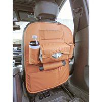 Car Seat Back Organizer Storage & Backseat Tablet, Phone, Beverage Holder