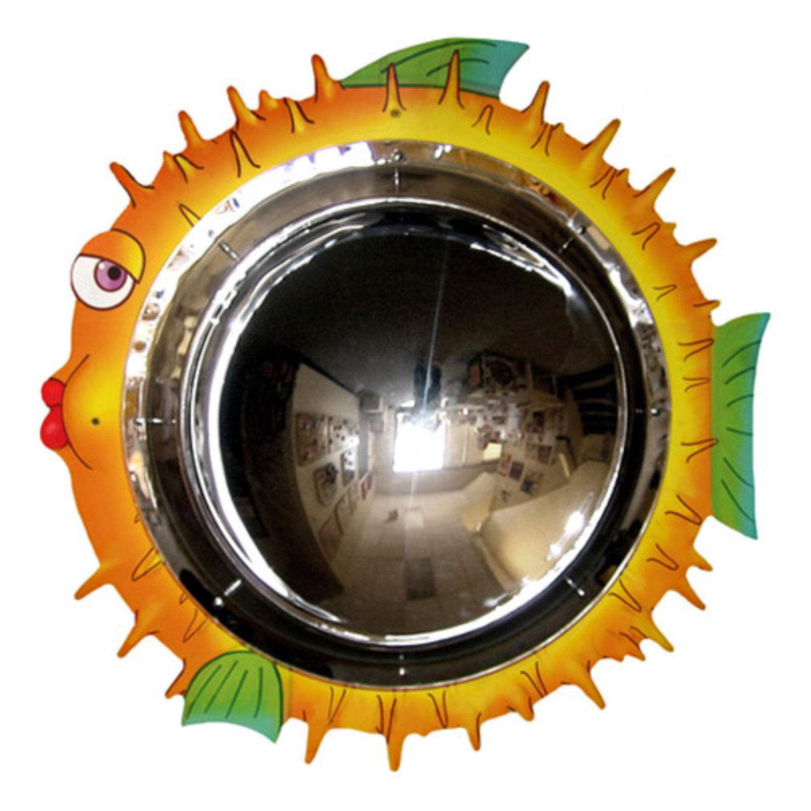 Anatex Blowfish Convex Mirror Wall Panel by Anatex