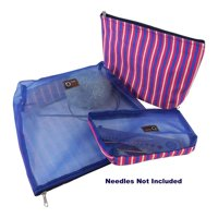 della Q Mesh + Cotton Zip Collection (multiple sizes) 1123-1