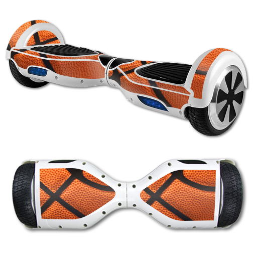 MightySkins Protective Vinyl Skin Decal for Hover Board Self Balancing Scooter mini 2 wheel x1 razor wrap cover sticker Basketball