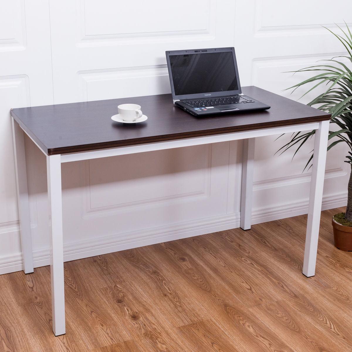 Home office desk computer pc writing table workstation furniture wooden modern walmart com
