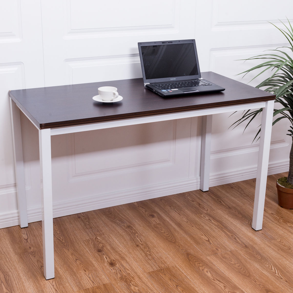 Home Office Desk Computer PC Writing Table Workstation Furniture Wooden  Modern