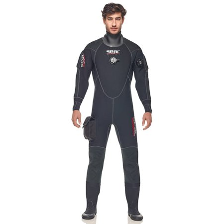 Seac Neoprene Warmdry Mens Drysuit (Best Crushed Neoprene Drysuit)