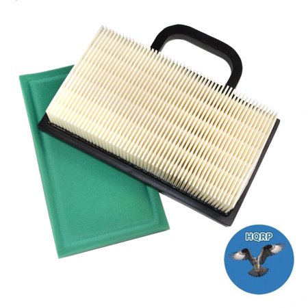 Image of HQRP Air Filter Cartridge w/ Pre-cleaner for Craftsman GT5000 GT3000 DYS4500 YS4500 Garden Tractors, 33926 Replacement + HQRP Coaster