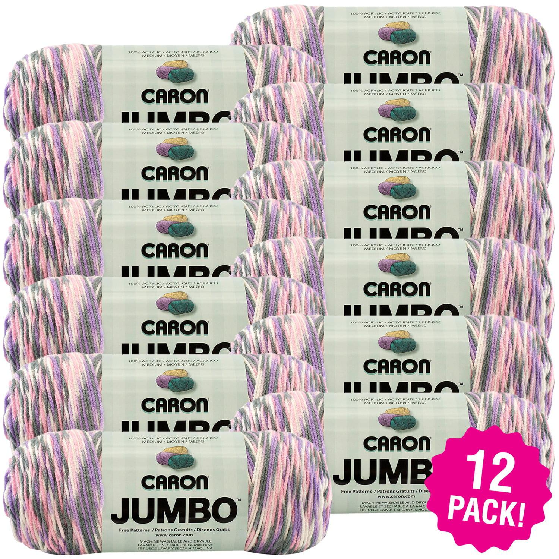 Caron Jumbo Print Yarn - Easter Basket, Multipack of 12