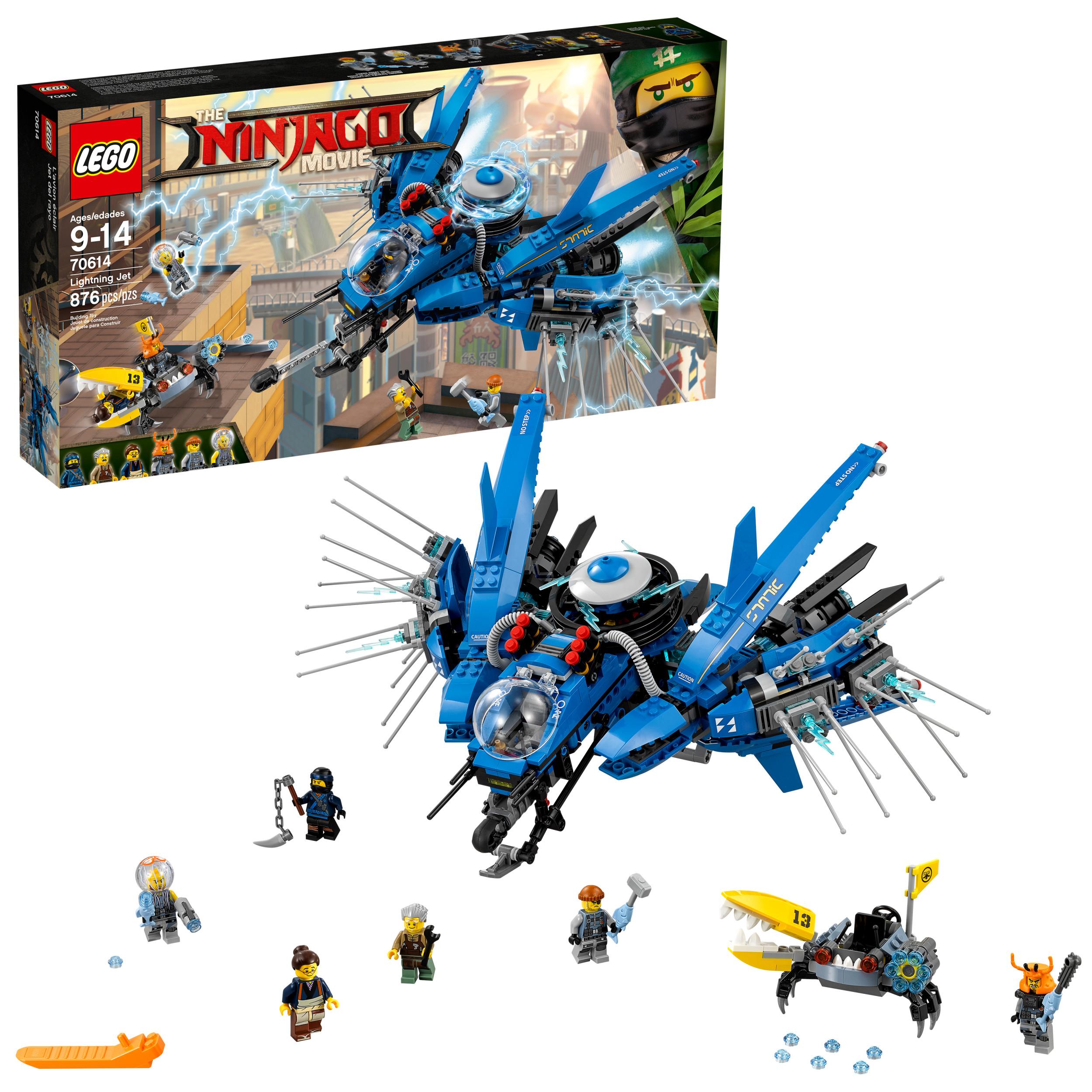 LEGO Ninjago Movie Lightning Jet 70614 (876 Pieces)