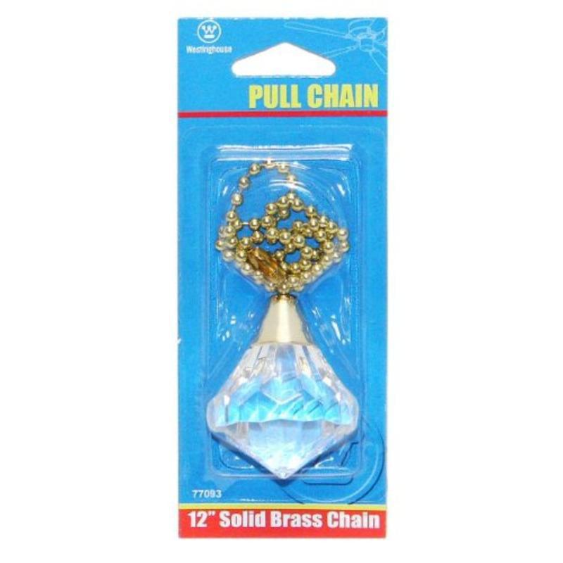 Acrylic Diamond Pull Chain Westinghouse Lighting 7709300 030721770937