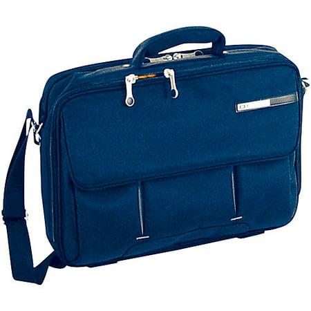 Deluxe Computer Briefcase (CalPaks ASB301 DEEP RED 16 Deep Red Magno Deluxe Laptop Briefcase )